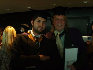 Graduating with Rick Wakeman