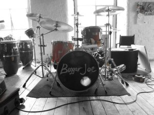 Kit Set-up for Beggar Joe Tour - http://beggarjoe.com
